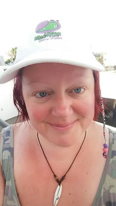 Who said caps are just for work? ~Heidi #happydays #madslug #madslugger #lanzarote