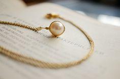 原创设计手工DIY创意个性作品,手工原创天然淡水珍珠项链