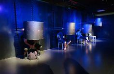 Torino, Museo dell'Automobile, postazione multimediale