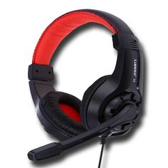 LUPUSS G1 Adjustable 3.5mm Sport Headphone Game Gaming Headphones Headset Low Bass Stereo with Mic Wired for PC Laptop Computer //Price: $14.24      #followme