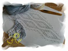 Malowane Wiatrem: Chusta Alize Bella Batik popiel 2