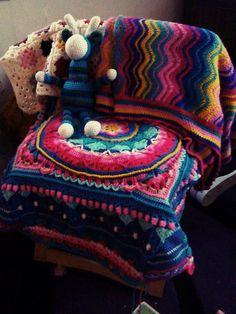 Crochet work by Catherine Goldsmith