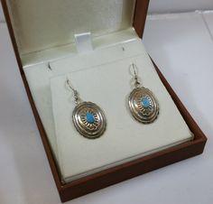 Ohrringe Ohrhänger Silber Türkis nostalgisch SO211 von Schmuckbaron