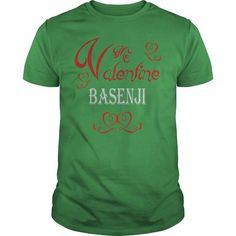 Valentine with my Basenji