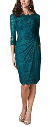 Mollybridal Knee length Bateau Lace Mother of the Bride Groom Dresses Teal 10 Mollybridal http://www.amazon.com/dp/B014P7RZ8I/ref=cm_sw_r_pi_dp_6oV6vb0H68W5Q