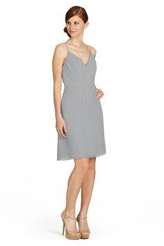 Jim Hjelm 5358s Crinkle Chiffon Bridesmaid Dress | Weddington Way
