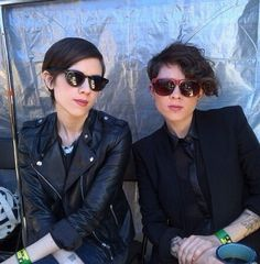 Just look how suave they are. | 17 Reasons To Have A Crush On Tegan And Sara