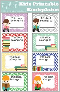 free printable bookplates templates - 1000 images about book plates on pinterest book labels