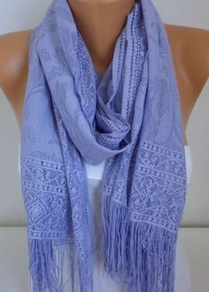 """I use pashminas/scarves that are wide enough to use as a shawl. Anything over 22"""" works well."""