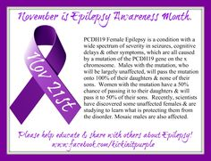 November is Epilepsy Awareness Month...because it matters. Here is our fact of the day for November 21st. Everyday there will be a new fact. Please ✓Like ✓Comment ✓Share to help spread Epilepsy Awareness .#epilepsy #epilepsyawareness