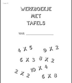 Numbers For Kids, Math Classroom, Worksheets, Homeschool, Teaching, Dyscalculia, Learning, Math, Psychology