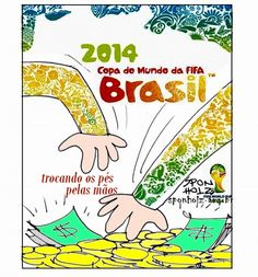 Cartaz da Copa de 2014