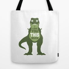 Buy Amourosaurus by David Olenick as a high quality Tote Bag. Worldwide shipping available at Society6.com. Just one of millions of products available.