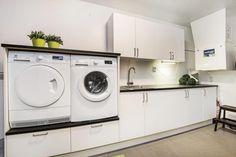 Praktisk vaskeromsløsning