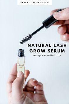Eyebrows, Eyeliner, Essential Oils For Skin, Essential Oil Diffuser Blends, Oil For Eyelash Growth, Natural Eyelash Growth, Make Up Looks, Eyebrow Serum, Best Eyebrow Growth Serum