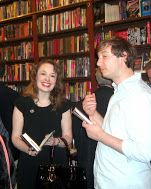 Hilary Davidson at the BLOOD ALWAYS TELLS launch event at The Mysterious Bookshop in Tribeca.