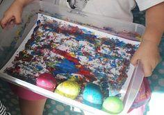 Easter Egg Roller Painting