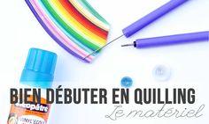 Petit tour d'horizon du matériel nécessaire pour pratiquer le quilling. brindesev.fr