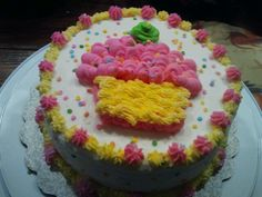 Cake from decorating class