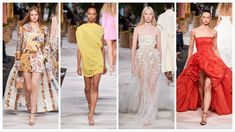 Oscar de la Renta Ready to Wear – Spring 2020 - Glam News Magazine Ready To Wear, One Shoulder, India, Magazine, Formal Dresses, News, Spring, How To Wear, Fashion