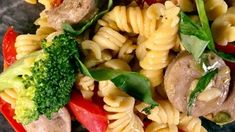 Weeknight Penne with Veggies and Chicken Sausage Recipe | The Chew - ABC.com