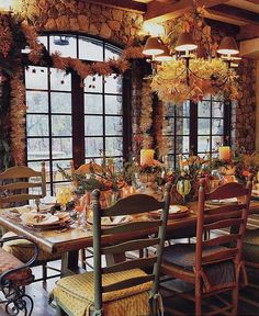 Rustic French Country Dining ~ Linda Applewhite & Associates