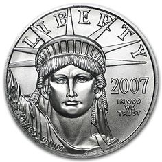 2007 1/2 oz Platinum American Eagle BU 1/2 OZ Brilliant Uncirculated * Want additional info? Click on the image.
