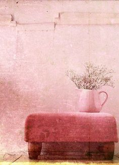 Love this blush color for our bedroom. Would accent the black furniture and grey bedding perfectly!