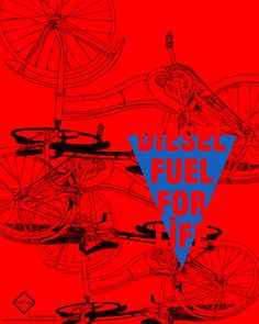 Illustration & Design Project for diesel - Fuel For Life