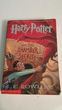 Harry Potter And The Chamber Of Secrets Book Year 2 Paperback JK Rowling FAIR