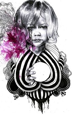 portraits from onother world by iain macarthur, via Behance