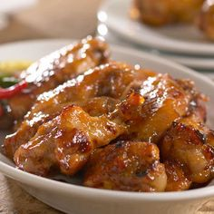 Apple Jalapeño Chicken Wings from Stonewall Kitchen Spicy Recipes, Turkey Recipes, Gourmet Recipes, Appetizer Recipes, Appetizers, Cooking Recipes, Gourmet Foods, Dinner Recipes, Stonewall Kitchen