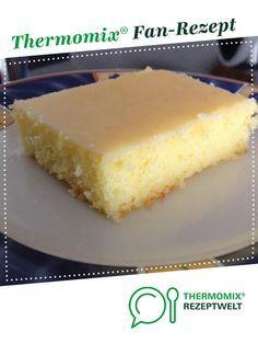 Zitronenkuchen von Misssunshine71. Ein Thermomix ® Rezept aus der Kategorie Backen süß auf www.rezeptwelt.de, der Thermomix ® Community.