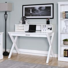 Pretty and functional writing desk