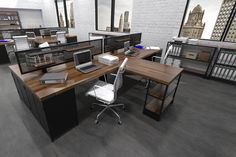 Iron Age Office - Modern Industrial Office Furniture