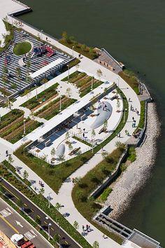 Hunter's Point South Waterfront Park- New York,USA- Thomas Balsley Associates + WEISS MANFREDI