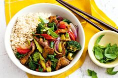 Pepper and basil add a big flavour punch without the extra kilojoules in this sizzling stir-fry.