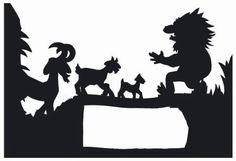 Munchkins and Mayhem: Printable Shadow Puppets
