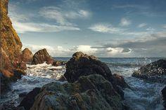 Seastacks, Rosemarkie, Scotland by Nature.Holds.The.Key . #sea #shore