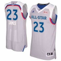 52e99eedb101  22 Men s Eastern Conference  23 Lebron James adidas Gray 2017 NBA All-Star  Game