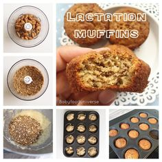 Increase your milk supply with this milk booster muffin - for breastfeeding moms and just super food muffin snack in general.