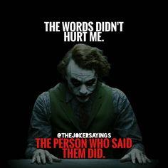 Joker Quotes 301 Best Joker Quotes images | Dark quotes, Shady quotes, Joker quotes Joker Quotes