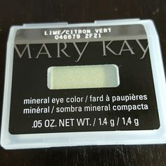 Mary Kay eye color Mary Kay mineral eye color in lime Makeup Eyeshadow