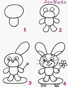 How to draw a bunny | How to Draw a...