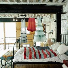 #interior #design #interiordesign {Apartment with grunge walls   Home Adore}