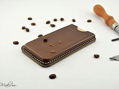 Мастер-класс по пошиву кожаного чехла для телефона (Iphone SE) | Ярмарка Мастеров - ручная работа, handmade