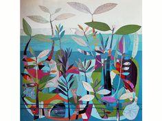 Tiffany Calder Kingston, Byron Bay, Australia, The breath of being, 1200mm x 1200mm, acrylic
