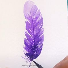 Watercolor Feather Art 👉www.me💝Save OFF with code Stationery Watercolor Feather Art 👉www.me💝Save OFF with code Stationery ,malen to earn money to make money online money from home to make extra money from home jobs legitimate Watercolor Feather, Feather Painting, Feather Art, Easy Watercolor, Watercolor Painting Techniques, Watercolour Tutorials, Painting & Drawing, Watercolor Paintings, Watercolors