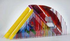 Czech Glass, Glass Art, Outdoor Decor, Fun, Crystals, Hilarious
