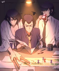 Lupin The Third, Anime Titles, Art Prompts, Cute Monkey, Fandoms, Awesome Anime, Anime Figures, Drawing Reference, Japanese Art